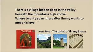 Ivan Ross - The ballad of Jimmy Brown (Lyrics) - video dailymotion