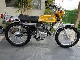 yamaha ct1 175 enduro 1971 red