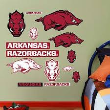 Search Results For Wall Razorbacks Fathead Official Site Arkansas Razorbacks Razorbacks Custom Wall Decals