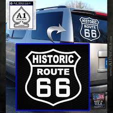 Historic Route 66 Highway Vinyl Decal Sticker A1 Decals