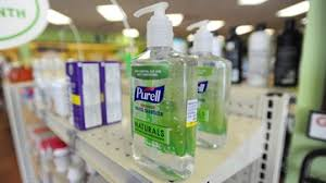 can t find hand sanitizer here is how