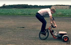colin furze s 125cc drift trike