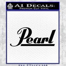 Pearl Drums Decal Sticker A1 Decals