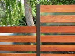 Fence Panels Are Custom Made Incorporating 1 16 Fiberglass That Come In 4 X 8 Sheets Fence Design Modern Fence Wood Fence