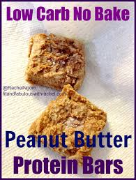 low carb peanut er protein bars