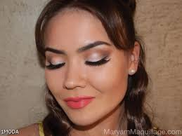 eye makeup for red prom dress