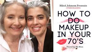 how to do your makeup in your 70 s