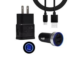 led car charger wall adapter type c
