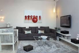 pendant lighting settee rug shelves