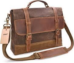 newhey messenger bag leather laptop bag