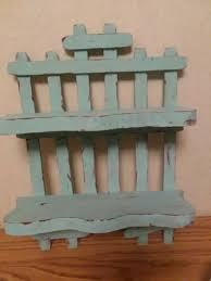 Small Shabby Chic Wood Shelf Picket Fence Design For Nick Knacks Fence Design Wood Shelves Shabby Chic
