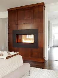 two sided fireplaces better homes