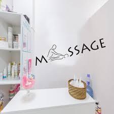 Wall Sticker Vinyl Decal Massage Relax Spa Salon Beauty Health Vinyl Decal Salon Beautywall Sticker Aliexpress
