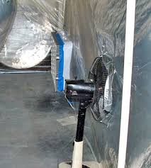 building your own home paint booth