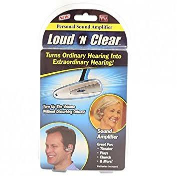 Image result for loud n clear""