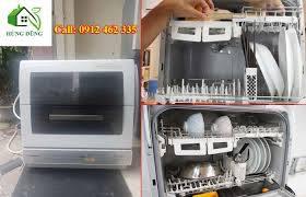 Máy rửa bát nhật bãi Panasonic đẹp tại Hà Nội