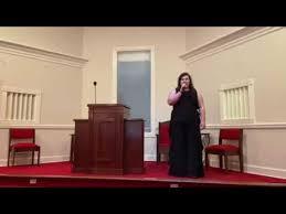 Addie Hughes Female Vocal Solo - YouTube