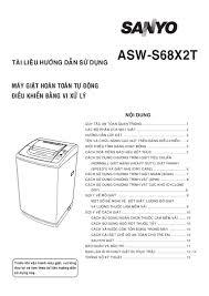 Huong dan-su-dung-may-giat-sanyo-asw-s68 x2t