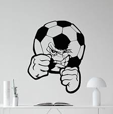 Soccer Ball Wall Decal Football Ball Vinyl Sticker Sport Wall Decor Cool Wall Art Kids Teen Girl Boy Room Wall Design Modern Bedroom Wall Decor Mural 54nnn Wish