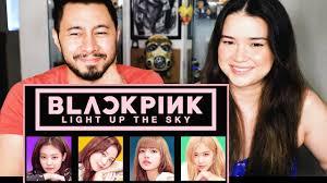 BLACK PINK Light Up The Sky Netflix Trailer Reaction - YouTube