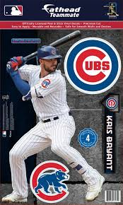 Fathead Chicago Cubs Kris Bryant Teammate Wall Decal Dick S Sporting Goods