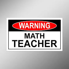 Amazon Com Jb Print Magnet Warning Math Teacher Vinyl Decal Sticker Car Waterproof Car Decal Magnetic Bumper Sticker 5 Kitchen Dining