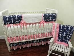 nautical baby girl bedding set saylor