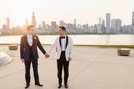 chicago adler planetarium wedding with