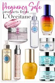 pregnancy safe skincare from l occitane