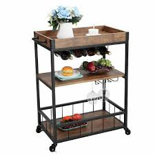 cart trolley dining storage basket