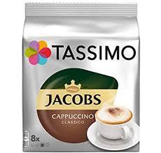 TASSIMO Jacobs Cappuccino café, dosettes à café souples, T-Discs Capsules,  5 paquets de 8 (40 Boissons): Amazon.fr: HygiÚne et Soins du corps