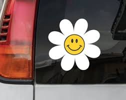 Smiley Face Decal Etsy