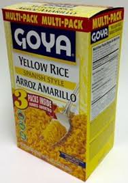 goya yellow rice spanish style arroz