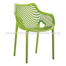 breathable plastic outdoor chair