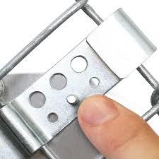 Ez Clip Sign Clips For Chain Link Fence Pair Sign Bracket Kit Sku Fence Clip 02