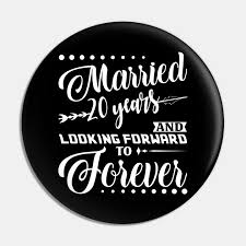 married 20 years shirt for 20th wedding