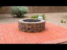 how to install a gas fire pit you