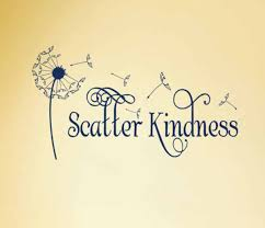 Scatter Kindness Vinyl Wall Decal Quote Wall Stickers Dandelion Flower With Blowing Seeds Sign Lettering Household Words Zb122 Dandelion Flower Sticker Dandelionwall Sticker Dandelion Aliexpress