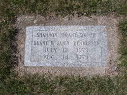 Shannon Duane Henderson (1979-1979) - Find A Grave Memorial