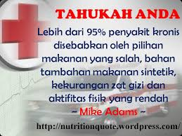 pola hidup sehat nutrition quotes