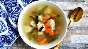 chunky en vegetable soup further