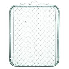 Chain Link Fence Gate 42 X 48 In Walk Through Privacy Slats Fencing Panels Steel 99713008991 Ebay