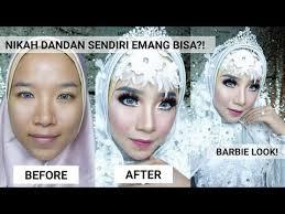 tutorial makeup pengantin hijab