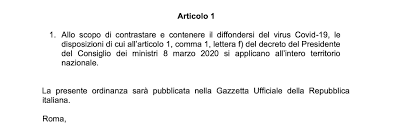 Coronavirus, nuovo decreto: tutta l'Italia diventa zona rossa