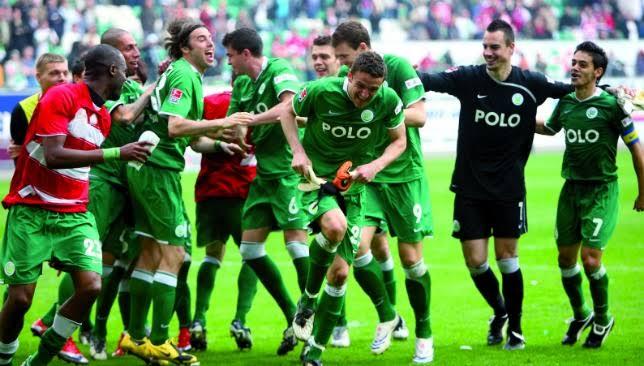 Bayern Munchen 1-5 Wolfsburg