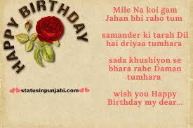 happy birthday wishes in hindi for friend brother wife