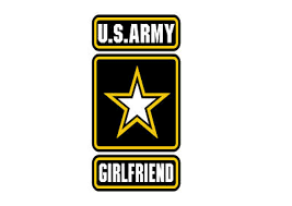 Us Army Girlfriend Vinyl Decal Sticker Army Strong 4 00 Picclick