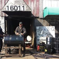 pastor builds biz with homemade bbq pits