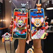 Cute Tom And Jerry iPhone Cases For Couples In TPU