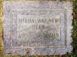 Hilda W. Deck (1911-1979) - Find A Grave Memorial
